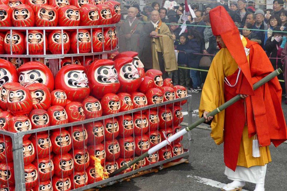 F tes et feux for Porte japonaise